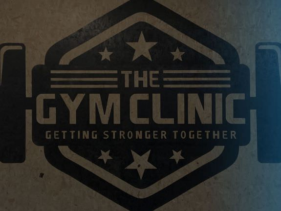 Refurbishment for The Gym Clinic with large logo stencils